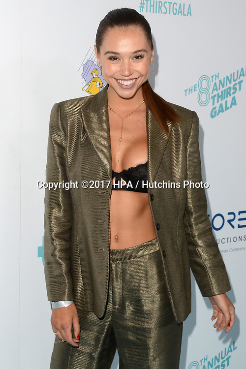 LOS ANGELES - APR 18:  Alexis Ren at the Thirst Gala 2017 at Beverly Hilton Hotel on April 18, 2017 in Beverly Hills, CA