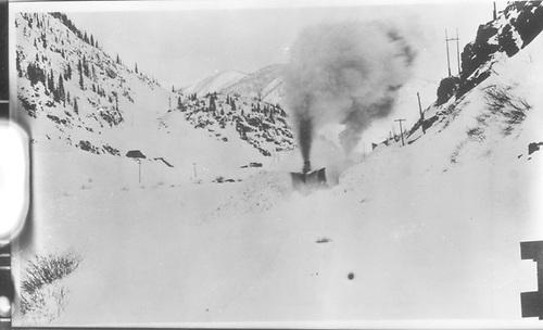CM wedge snowplow.<br /> Colorado Midland