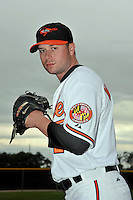 Feb 27, 2010; Tampa, FL, USA; Baltimore Orioles  pitcher Cla Meredith (26) during  photoday at Ed Smith Stadium. Mandatory Credit: Tomasso De Rosa/ Four Seam Images