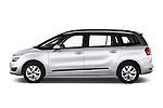 Driver side profile view of a 2013 Citroen GRAND C4 PICASSO Intensive 5 Door Minivan 2WD