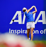 Sun Young Too of Korea, plays her shot from the first tee during the third round of the ANA Inspiration at the Mission Hills Country Club in Palm Desert, California, USA. 3/31/18.<br /> <br /> Picture: Golffile | Bruce Sherwood<br /> <br /> <br />  All photo usage must carry mandatory copyright credit (&copy; Golffile | Bruce Sherwood)during the second round of the ANA Inspiration at the Mission Hills Country Club in Palm Desert, California, USA. 3/31/18.<br /> <br /> Picture: Golffile | Bruce Sherwood<br /> <br /> <br /> All photo usage must carry mandatory copyright credit (&copy; Golffile | Bruce Sherwood)