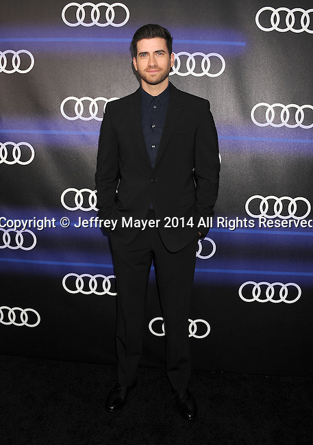 LOS ANGELES, CA- AUGUST 21: Actor Ryan Rottman arrives at the Audi Emmy Week Celebration at Cecconi's Restaurant on August 21, 2014 in Los Angeles, California.