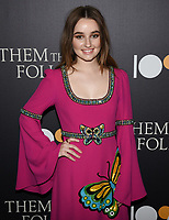 "30 July 2019 - Los Angeles, California - Kaitlyn Dever. ""Them That Follow"" Los Angeles Premiere held at the Landmark Theatre. Photo Credit: Billy Bennight/AdMedia"