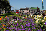 Sculpture and garden near Pier 39
