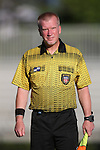 11 September 2016: Assistant Referee Scott Bowers. The Duke University Blue Devils hosted the High Point University Panthers at Koskinen Stadium in Durham, North Carolina in a 2016 NCAA Division I Women's Soccer match. Duke won the match 4-1.
