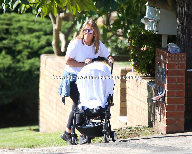 7 MAY 2017 SYDNEY AUSTRALIA<br /> WWW.MATRIXPICTURES.COM.AU<br /> <br /> EXCLUSIVE PICTURES<br /> <br /> Lara Worthington pictured out and about in Sydney. Lara spent her Sunday picking up some stationery supplies and testing samples for her new product line leaving Racer with her mother Sharon. <br /> <br /> Note: All editorial images subject to the following: For editorial use only. Additional clearance required for commercial, wireless, internet or promotional use.Images may not be altered or modified. Matrix Media Group makes no representations or warranties regarding names, trademarks or logos appearing in the images.