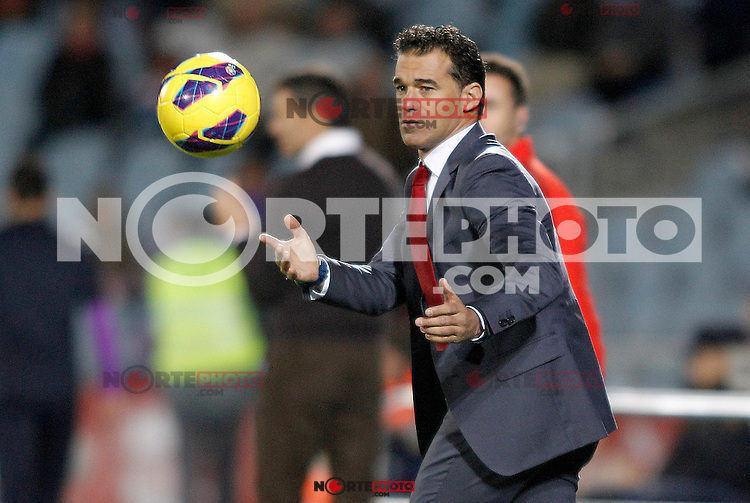 Getafe's coach Luis Garcia during La Liga match.November 18,2012. (ALTERPHOTOS/Acero) NortePhoto