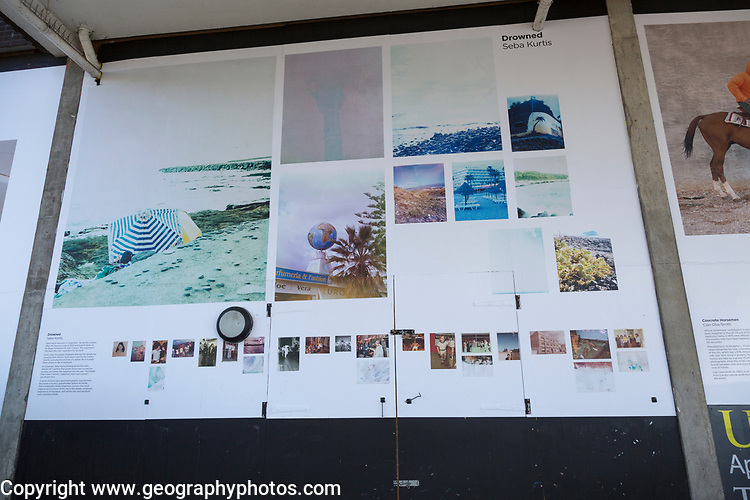 PhotoEast photography exhibition festival, Ipswich, Suffolk, England, UK 2018 display of Drowned images by Seba Curtis