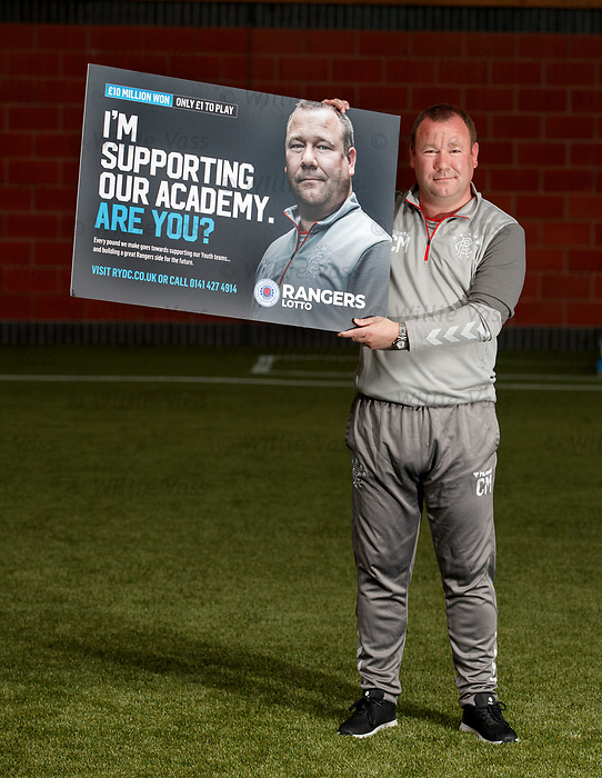 05.08.2019 Rangers RYDC Launch new Lotto Campaign. <br /> Craig Mulholland