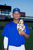 AZL Cubs pitcher Danis Correa (71) poses for a photo before a game against the AZL Angels on August 31, 2017 at Sloan Park in Mesa, Arizona. AZL Cubs defeated the AZL Angels 9-2. (Zachary Lucy/Four Seam Images)
