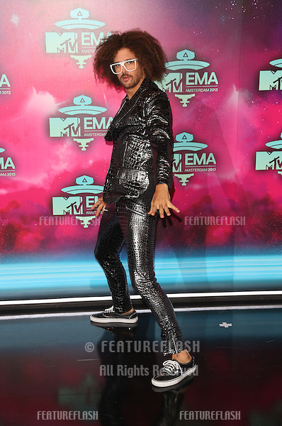 Redfoo arriving at the MTV EMA awards, Amsterdam, Netherlands. 10/11/20013 Picture by: Henry Harris / Featureflash