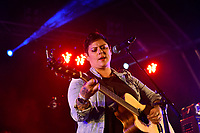 Anika Moa performing at Jim Beam Homegrown, Wellington Waterfront, New Zealand on Saturday 7 April 2018.<br /> Photo by Masanori Udagawa. <br /> www.photowellington.photoshelter.com