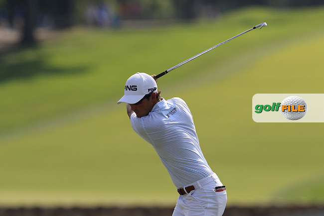 Andrew Landry (USA) tees off the 5th tee during Sunday's Final Round of the 2016 U.S. Open Championship held at Oakmont Country Club, Oakmont, Pittsburgh, Pennsylvania, United States of America. 19th June 2016.<br /> Picture: Eoin Clarke   Golffile<br /> <br /> <br /> All photos usage must carry mandatory copyright credit (&copy; Golffile   Eoin Clarke)