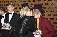 Toni Kroos, Sharon Stone and Billy Porter at the 21st presentation of the GQ Men of the Year Awards 2019 at the Komische Oper. Berlin, November 7, .2019. Credit: Action Press/MediaPunch ***FOR USA ONLY***