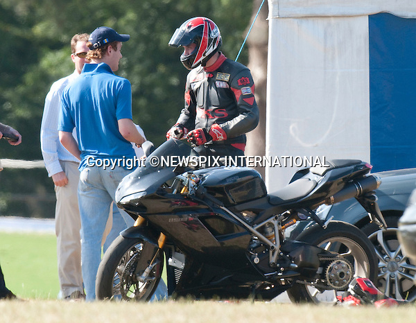 "PRINCE WILLIAM.rides a new motobike..The Prince and his brother Prince Hary were playing in a charity match in aid of Sentabale and Tusk Trust, Coworth Park, Windsor_05/07/2009.Mandatory Photo Credit: ©Dias/Newspix International..**ALL FEES PAYABLE TO: ""NEWSPIX INTERNATIONAL""**..PHOTO CREDIT MANDATORY!!: NEWSPIX INTERNATIONAL(Failure to credit will incur a surcharge of 100% of reproduction fees)..IMMEDIATE CONFIRMATION OF USAGE REQUIRED:.Newspix International, 31 Chinnery Hill, Bishop's Stortford, ENGLAND CM23 3PS.Tel:+441279 324672  ; Fax: +441279656877.Mobile:  0777568 1153.e-mail: info@newspixinternational.co.uk"