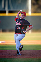 Illinois State Redbirds relief pitcher Jeffrey Barton (31) delivers a pitch during a game against the Indiana Hoosiers on March 4, 2016 at North Charlotte Regional Park in Port Charlotte, Florida.  Indiana defeated Illinois State 14-1.  (Mike Janes/Four Seam Images)