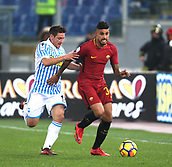 1st December 2017, Stadio Olimpico, Rome, Italy; Serie A football. AS Roma versus Spal;  EMERSON ERSCHIAVON Roma