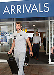 08.08.18 FK Maribor arrive at Glasgow airport: Saša Ivković
