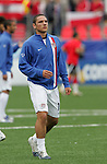 14 July 2007: United States' Julian Valentin. Austria's Under-20 Men's National Team defeated the Under-20 Men's National Team of the United States 2-1 after extra time in a  quarterfinal match at the National Soccer Stadium (also known as BMO Field) in Toronto, Ontario, Canada during the FIFA U-20 World Cup Canada 2007 tournament..