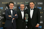 Javier Fesser attend the 2015 Goya Award Winners Photocall at Auditorium Hotel, Madrid,  Spain. February 08, 2015.(ALTERPHOTOS/)Carlos Dafonte)