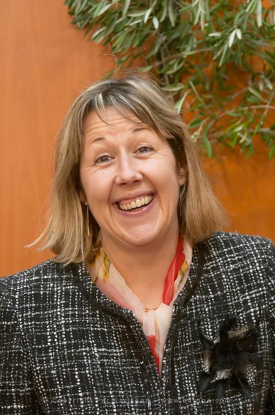 Cathy Cros of Domaine de l'Hortgrand, Montpeyroux, Languedoc, France