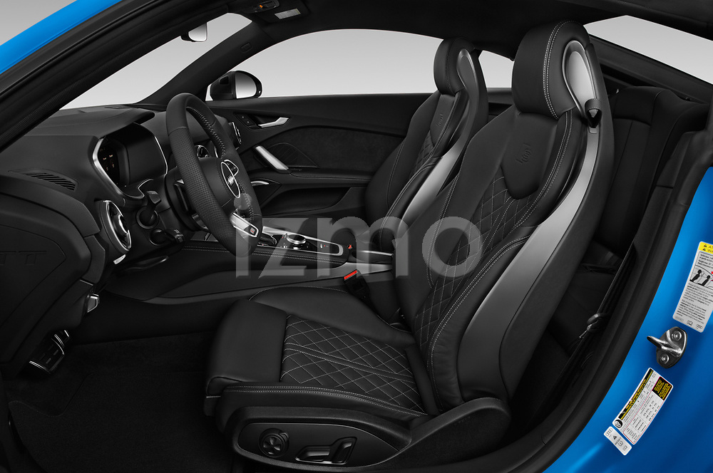 Front seat view of a 2019 Audi TTS-Coupe Base 3 Door Coupe front seat car photos