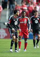 05 May 2012: D.C. United midfielder Dwayne De Rosario #7 and Toronto FC midfielder Julian de Guzman #6 in action during an MLS game between DC United and Toronto FC at BMO Field in Toronto..D.C. United won 2-0.