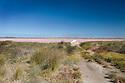 Pink Lakes near Kalbarri, Western Australia.