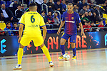 League LNFS 2017/2018 - Game 15.<br /> FC Barcelona Lassa vs Gran Canaria FS: 9-2.<br /> Acaymo Martin vs Ferrao.
