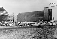 Royal Antwerp Aviation Club.  Reproductie bestaande afbeelding.  Luchthaven Deurne.