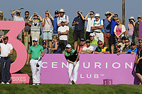 Gavin Moynihan (IRL) in action on day 2 at the GolfSixes played at The Centurion Club, St Albans, England. <br /> 06/05/2018.<br /> Picture: Golffile | Phil Inglis<br /> <br /> <br /> All photo usage must carry mandatory copyright credit (&copy; Golffile | Phil Inglis)
