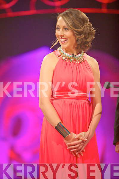 Sydney Rose Imelda Finnegan at the Monday night selection of the 2014 Rose of Tralee International Festival, held in the Dome, Tralee.