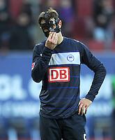 FUSSBALL   1. BUNDESLIGA  SAISON 2011/2012   23. Spieltag FC Augsburg - Hertha BSC Berlin          25.02.2012 Christoph Janker  (Hertha BSC Berlin)