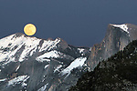 Yosemite Valley during February Full Moon