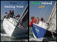 Sailing West Round Ireland Team 2010