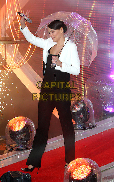 BOREHAMWOOD, ENGLAND - JANUARY 29: Emma Willis at the Celebrity Big Brother Final at Elstree Studios on January 29, 2014 in Borehamwood, England<br /> CAP/ROS<br /> &copy;Steve Ross/Capital Pictures