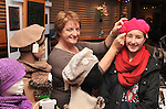 If the Hat fits........Bernyce Borman from Claremorris tries on a beautiful hand crochet hat made by Patricia Overton, Kilsallagh, Westport at the Craftworks Mayo Winter expo at the Wyatt Hotel on saturday last. The expo showcased the work of 28 different craftmakers from around the county and was officially launched by Minister Michael Ring...Pic Conor McKeown