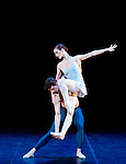 "English National Ballet's mixed bill ""A Million Kisses To My Skin"" Trois Gnossiennes, Adela Ramirez, Dmitri Gruzdyev"