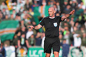 4th November 2017, McDiarmid Park, Perth, Scotland; Scottish Premiership football, St Johnstone versus Celtic; Referee Bobby Madden