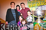 The O'Donoghue family with the Sam Maguire Cup<br /> Catherine, Yvonne, Helena, Katelyn and Tadhg.