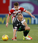 Dylan McGeouch with Darren Lyon