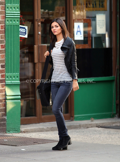ACEPIXS.COM<br /> <br /> September 15 2014, New York City<br /> <br /> Actress Victoria Justice was on the Brooklyn set of the TV show 'Eye Candy' on September 15 2014 in New York City<br /> <br /> <br /> By Line: Zelig Shaul/ACE Pictures<br /> <br /> ACE Pictures, Inc.<br /> www.acepixs.com<br /> Email: info@acepixs.com<br /> Tel: 646 769 0430