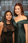 Donna Murphy with her daughter attend the Abingdon Theatre Company Gala honoring Donna Murphy on October 22, 2018 at the Edison Ballroom in New York City.