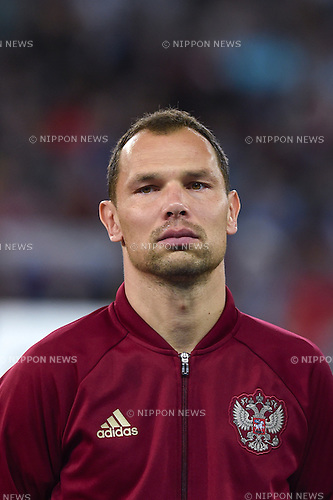 Sergei Ignashevich (Russia) ; <br /> June 15, 2016 - Football : Uefa Euro France 2016, Group B, Russia 1-2 Slovakia at Stade Pierre Mauroy, Lille Metropole, France. (Photo by aicfoto/AFLO)