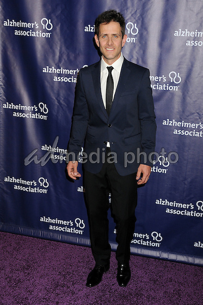 "18 March 2015 - Beverly Hills, California - Joey McIntyre. 23rd Annual ""A Night at Sardi's"" Benefit for the Alzheimer's Association held at The Beverly Hilton Hotel. Photo Credit: Byron Purvis/AdMedia"