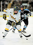 29 January 2010: University of Vermont Catamount forward Colin Vock, a Senior from Detroit, MI, in second period action against the University of Maine Black Bears at Gutterson Fieldhouse in Burlington, Vermont. The Black Bears defeated the Catamounts 6-3 in the first game of their America East weekend series. Mandatory Credit: Ed Wolfstein Photo