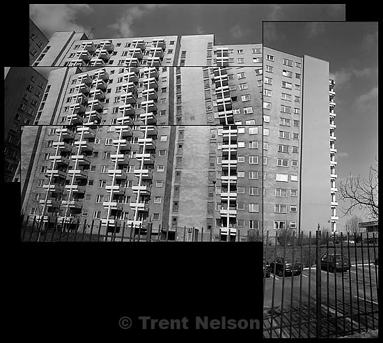 Warsaw apartment complex sequence<br />
