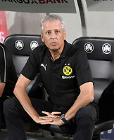 20.08.2018, Football DFB Pokal 2018/2019, 1. round, SpVgg Greuther Fuerth - Borussia Dortmund, Sportpark Ronhof in Fuerth. Trainer Lucien Favre (Dortmund).<br />