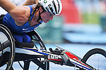 Tatyana Mcfadden (USA), <br /> SEPTEMBER 11, 2016 - Athletics : <br /> Women's 400m T54 Heat <br /> at Olympic Stadium<br /> during the Rio 2016 Paralympic Games in Rio de Janeiro, Brazil.<br /> (Photo by AFLO SPORT)