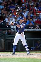 Ryan Rua - Texas Rangers 2016 spring training (Bill Mitchell)